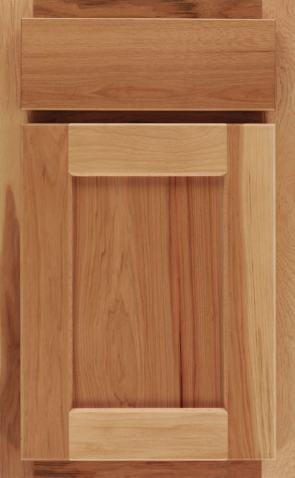 Rustic Hickory Cabinet