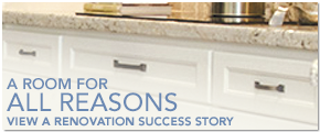 Promotional image for a Homecrest Renovation Success Story
