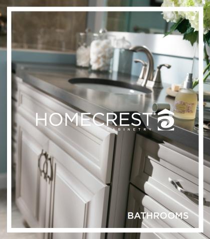 Homecrest Bathroom Cabinets Brochure