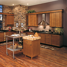 Sedona kitchen with industrial materials incorporated