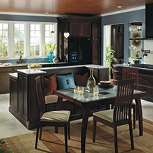 Jordan kitchen with transitional styling