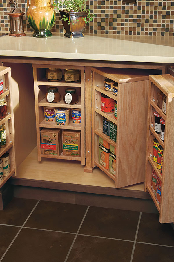 Base Pantry Cabinet - Homecrest Cabinetry