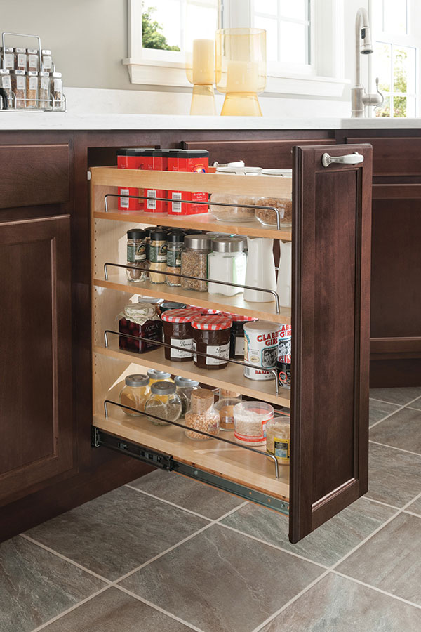kitchen cabinets pull outs kitchen cabinet organization products homecrest 21040