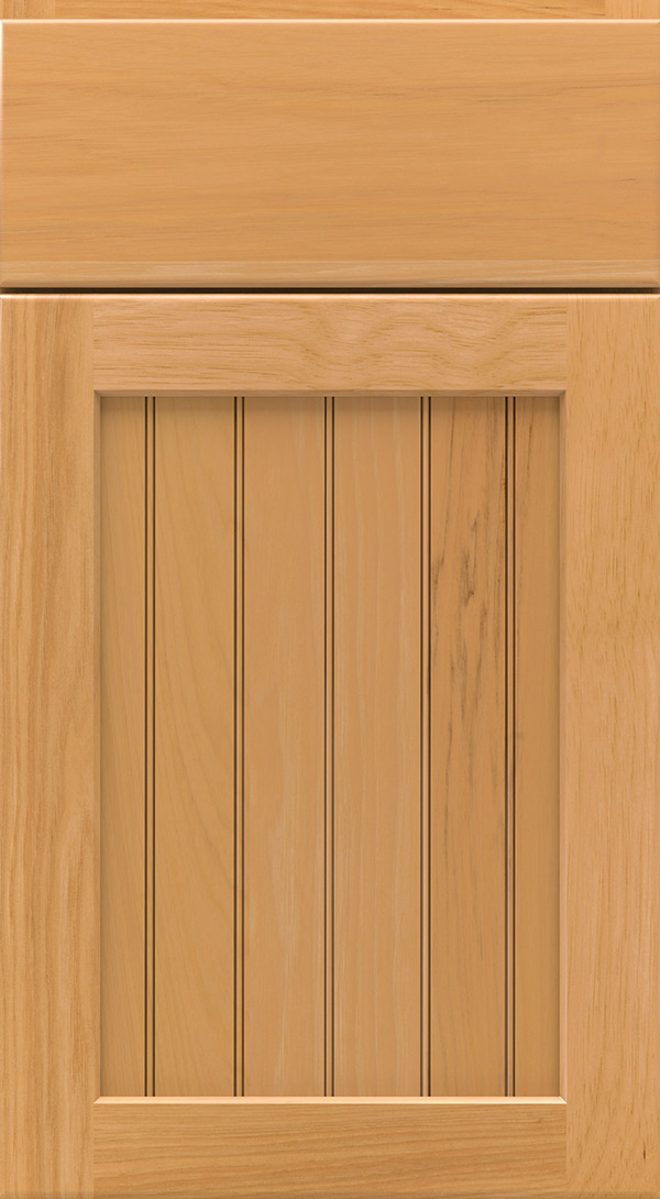 bayport_hickory_beadboard_cabinet_door_honey