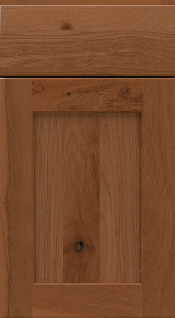 Terrain Cabinet Finish On Rustic Hickory Homecrest