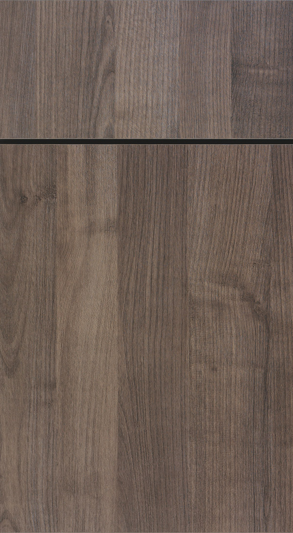 Juno Textured Laminate cabinet door in Cavern finish