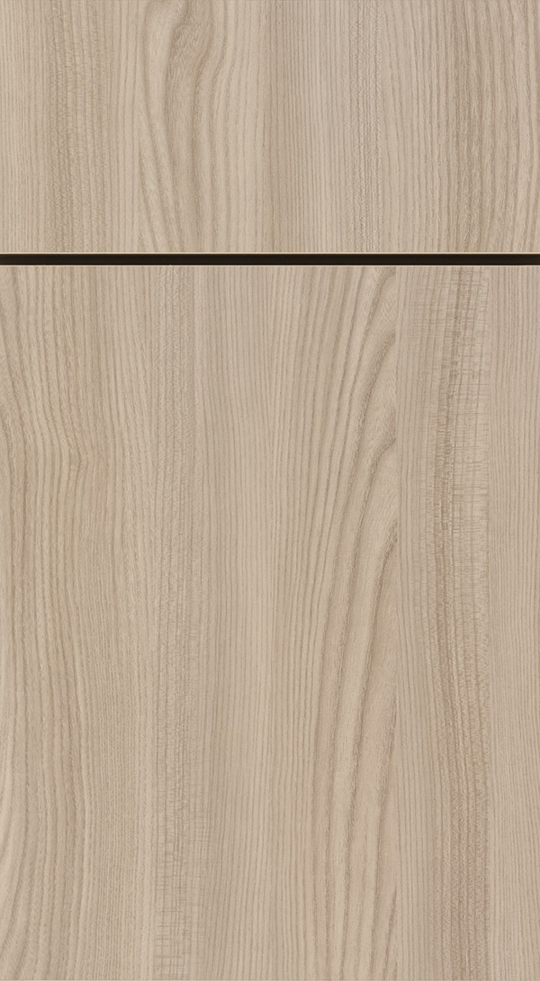 Juno Textured Laminate cabinet door in Tusk finish