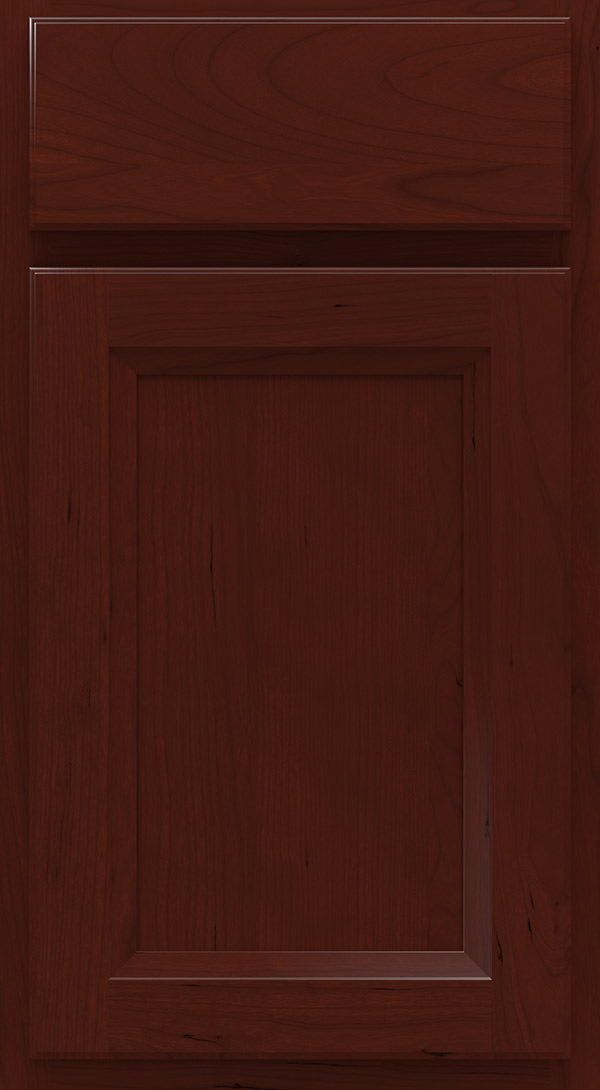 lautner_cherry_recessed_panel_cabinet_door_burgundy
