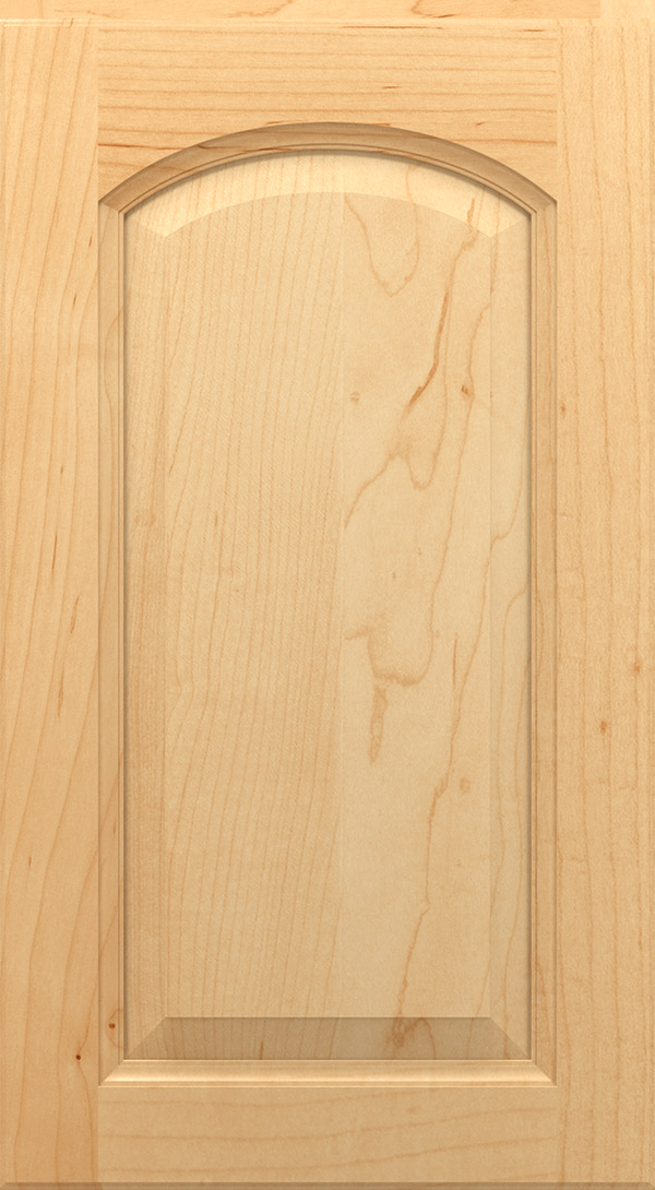 montella_arch_maple_raised_panel_cabinet_door_natural