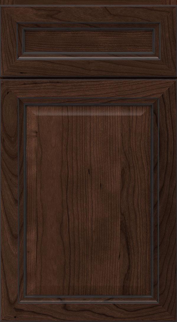 Ebony Cabinet Glaze On Cherry Homecrest Cabinetry