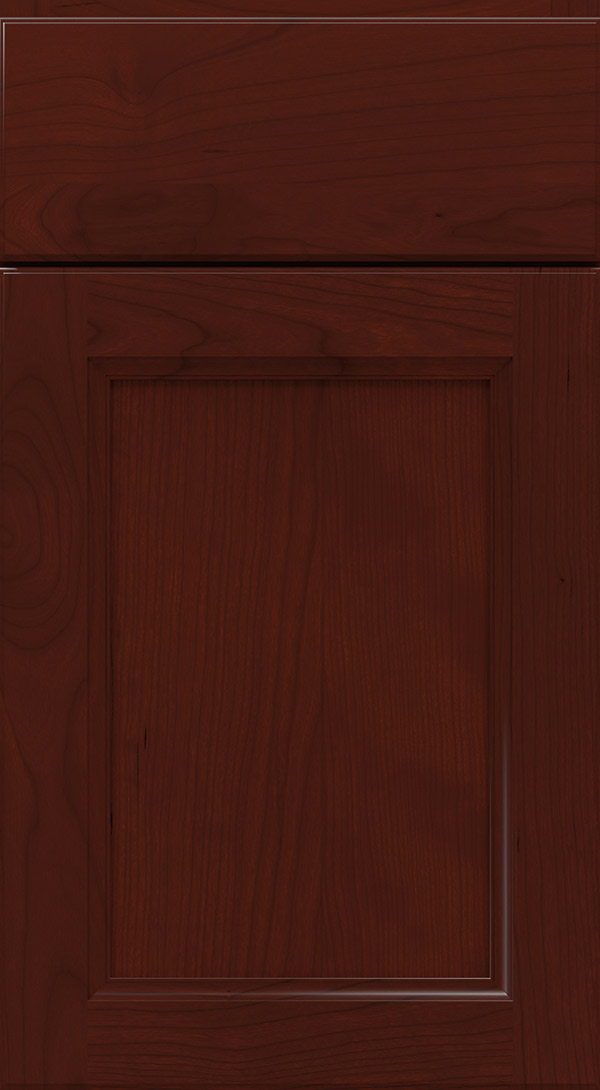 tennyson_cherry_flat_panel_cabinet_door_burgundy