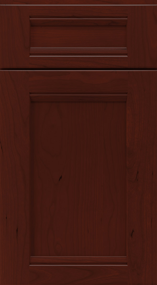 verano_5_piece_cherry_flat_panel_cabinet_door_burgundy
