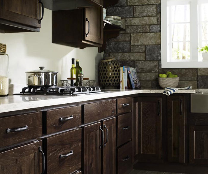 ... Rustic Kitchen Cabinets By Homecrest Cabinetry ...