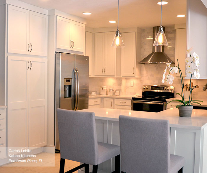 white shaker kitchen cabinets homecrest cabinetry rh homecrestcabinetry com White Raised Panel Kitchen Cabinets White Shaker Cabinets and Granite