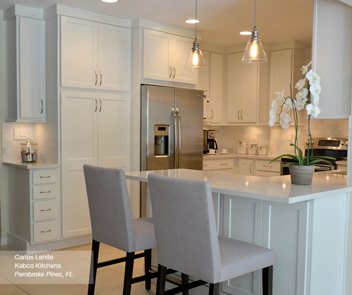 White Shaker Kitchen Cabinets