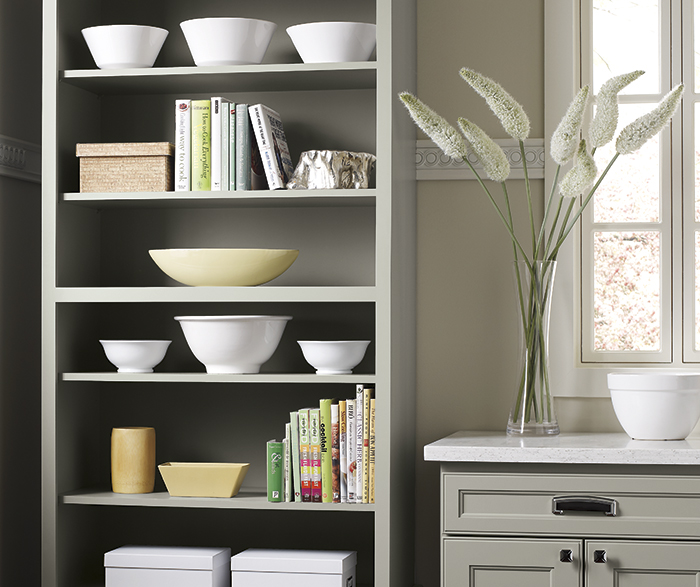 Gray Kitchen Cabinets Homecrest Cabinetry