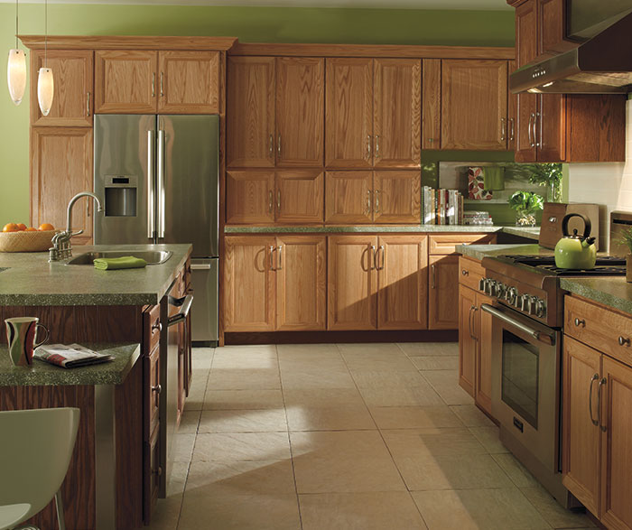 Natural Oak Cabinets Homecrest Cabinets