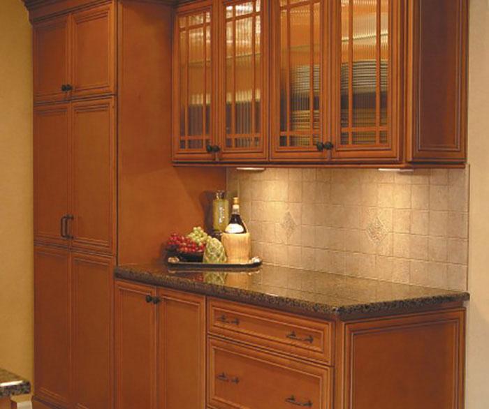 Glazed Kitchen Cabinet Doors: Recessed Panel Cabinet Doors