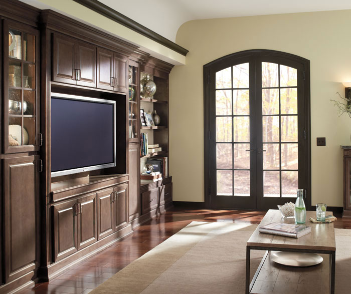 Ogilby Living Room Storage Cabinets In Maple Buckboard ...
