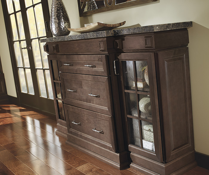 Living Room Storage Cabinets - Homecrest Cabinetry