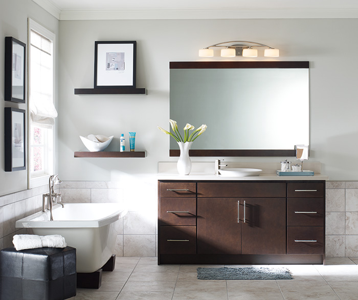 Delicieux Contemporary Bathroom Vanity By Homecrest Cabinetry ...