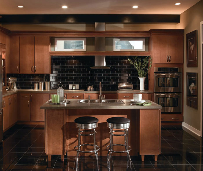 Modern Cabinet Kitchen: Contemporary Maple Kitchen Cabinets