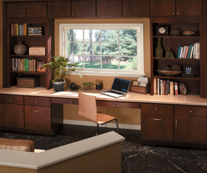 Home Office Cabinets - Homecrest Cabinetry