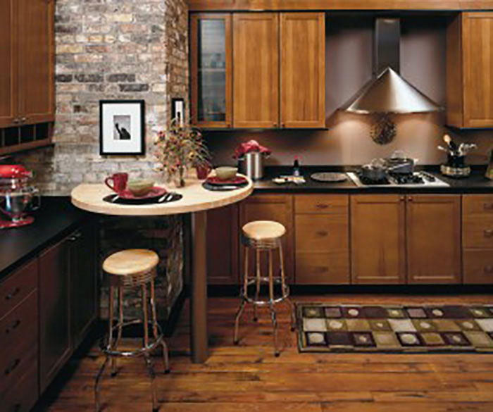 ... Hickory Kitchen Cabinets By Homecrest Cabinetry ...