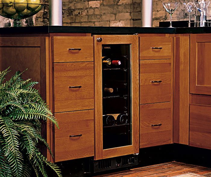 Awesome ... Hickory Kitchen Cabinets By Homecrest Cabinetry ...
