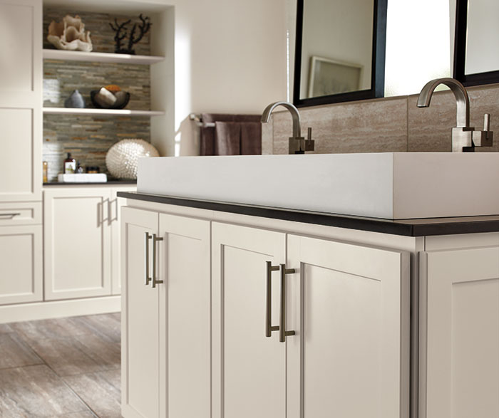 Off White Bathroom Cabinets Homecrest