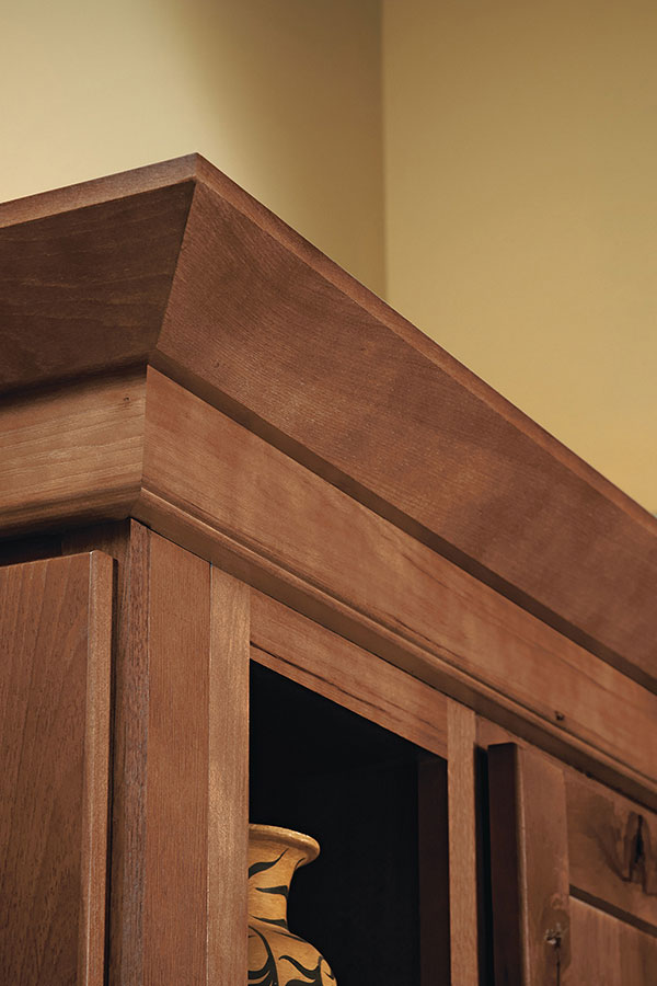 Starter And Shaker Moulding Homecrest Cabinetry