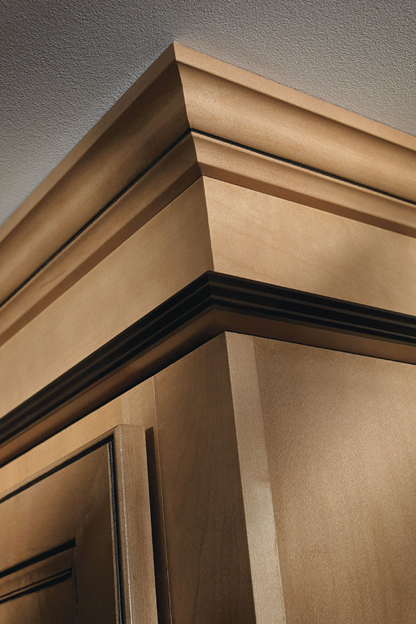 Crown Filler And Triple Bead Edge Moulding Homecrest