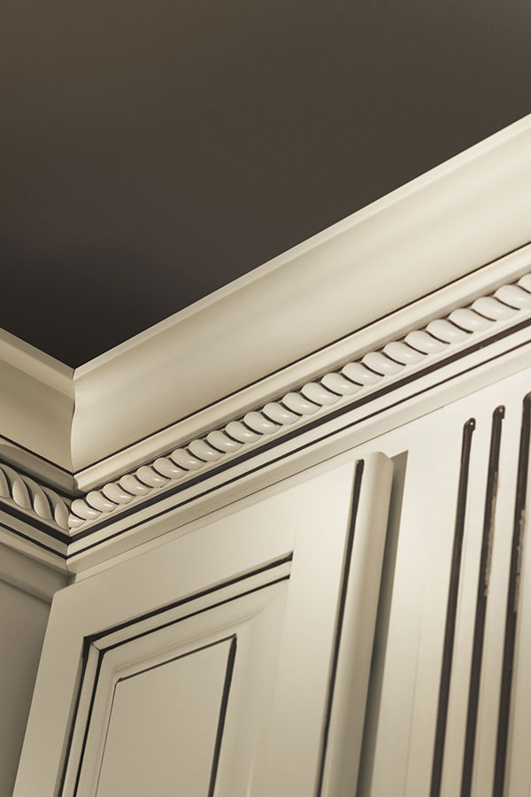 tall crown moulding filler moulding and triple bead edge moulding
