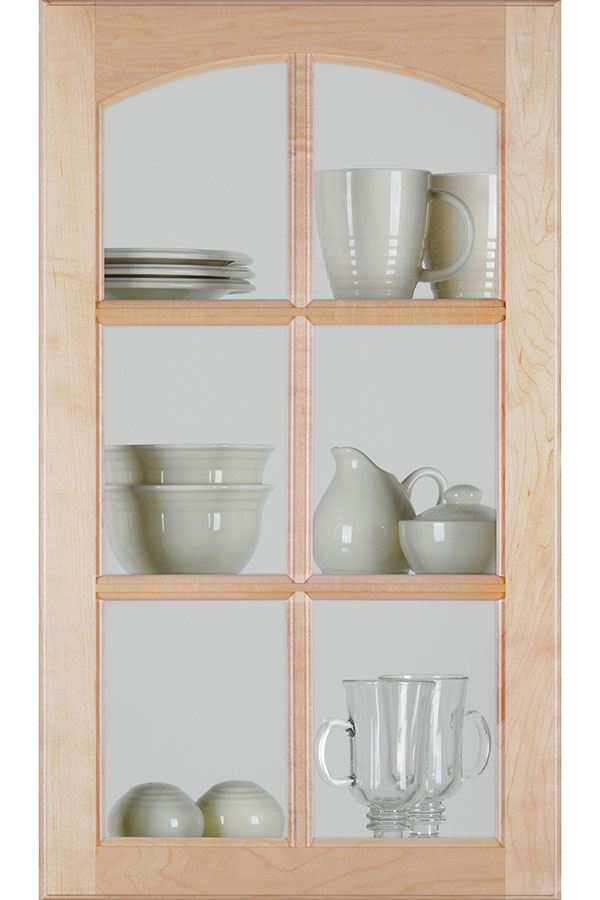Glass Cabinet Mullion Doors Homecrest