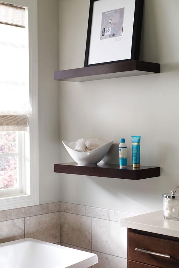 Floating Shelves Homecrest Cabinetry