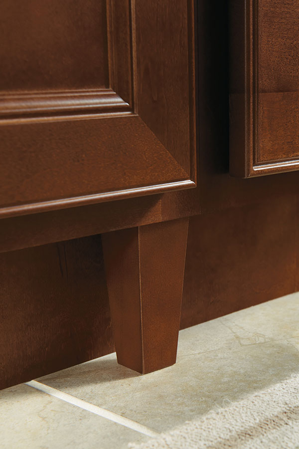 Tapered Cabinet Leg Homecrest Cabinetry